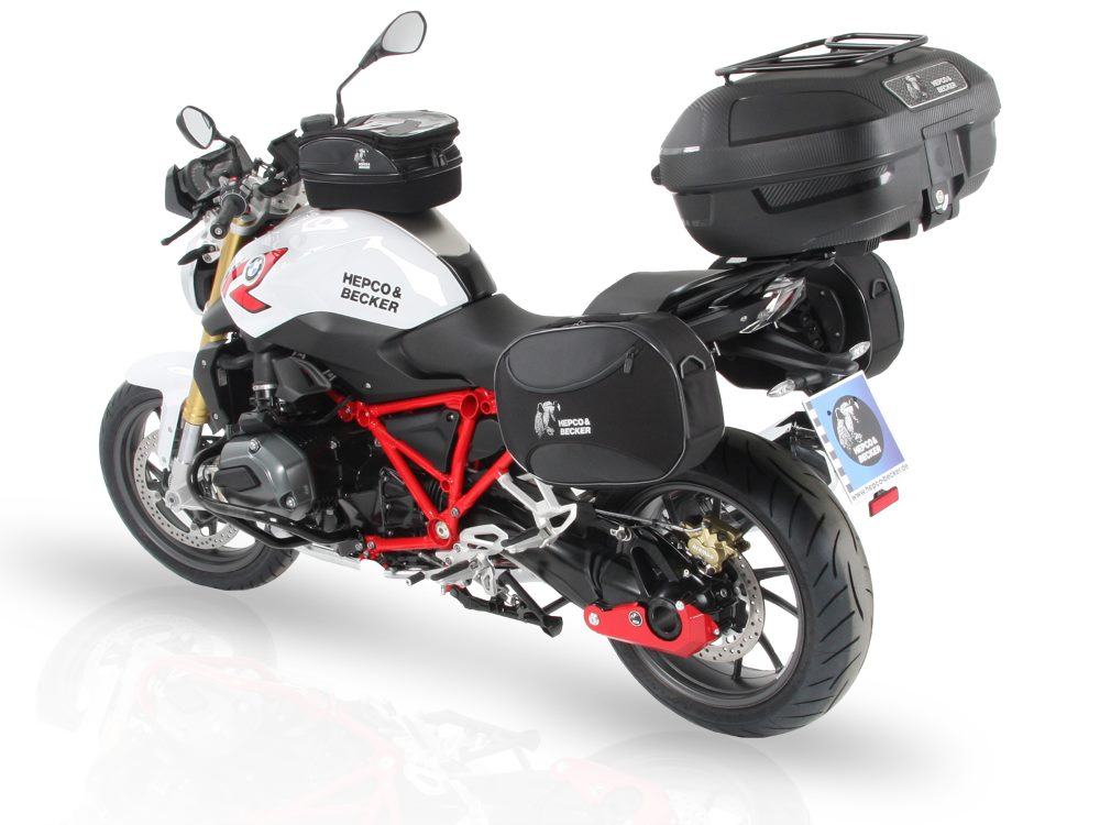 For BMW's R1200RS from 2015 we offer Hepco & Becker motorcycle accessories, luggage and more.  All available in Australia from Motorcycle Adventure Products